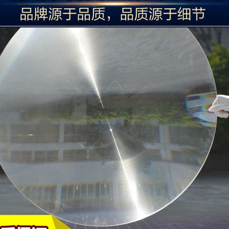 1PC 900mm Dia Big Round PMMA Plastic Solar Fresnel Condensing Lens Focal Length 890mm for Magnifier,Large Solar Concentrator 2pcs 150mm big optical pmma plastic round solar condensing compound eye fresnel lens improving brightness of light focal length