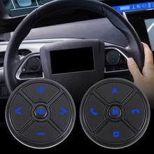 Multimídia Carro Universal Multi-função de Controle de Volante Botão 10 Botões  Botão DVD Com luz de Fundo Azul 353c3630ea92b