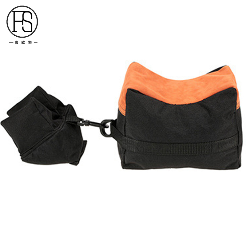 Tactical Shooting Gun Front Rear Support Bag Outdoor Hunting Sandbag Bench Sniper Rifle Gun Support Package in Holsters from Sports Entertainment