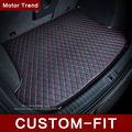 Custom fit estera del tronco de coche para BMW 3 / 4 / 5 / 7 Series GT M3 X3 X1 X4 X5 X6 Z4 estilo del coche 3D para cualquier estación bandeja alfombra cargo liner