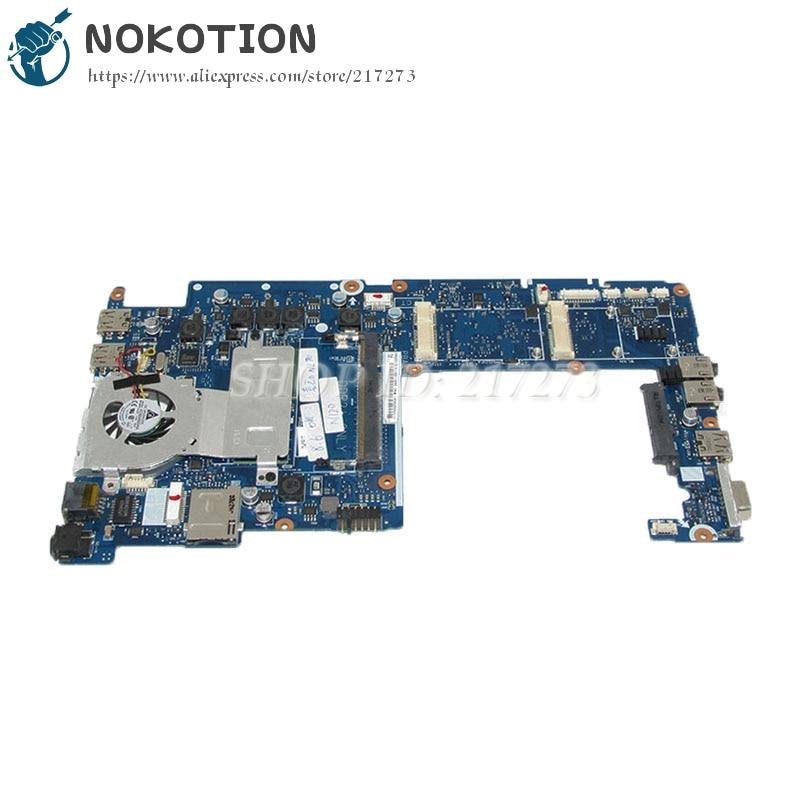 NOKOTION For samsung NP-N120 N120 Laptop motherboard N270 CPU BA92-05511A BA92-05511B BA41-01056A BA41-01058A BA41-01057A notebook motherboard for samsung np550 np550p5c n13p gt a2 gt650m ba92 09094a ba41 01898a tested ok free shipping