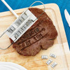 Romantic BBQ Meat Iron With Changeable Letters Personality Steak Meat Barbecue BBQ Tool Changeable 55 Letters