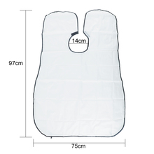 Pongee Beard Care Shave Apron Bib Trimmer Clean Facial Hair Cape Sink Bathroom
