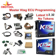 ObdTool NEW KTAG V2.23 Unlimited Version High Quality K TAG Master ECU Programming Tool K-TAG Hardware V7.020 with Free Shipping