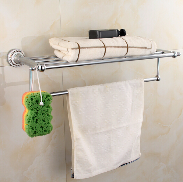 chorme sus 304 bathroom towel rack wall mounted towel shelf bathroom towel rack bathroom accessories