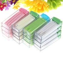 NUEVA Portátil de Plástico Palillo de Dientes 50 Pack En Caja Verde Sin Olor Oral Dental Selecciones