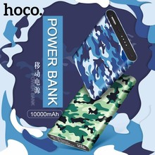 HOCO J9 Camouflage Power Bank External Battery10000mAh For iPhone X 8 8Plus 7 6 5 Xiaomi 5 Redmi Mate 10 Note 8 Backup Battery