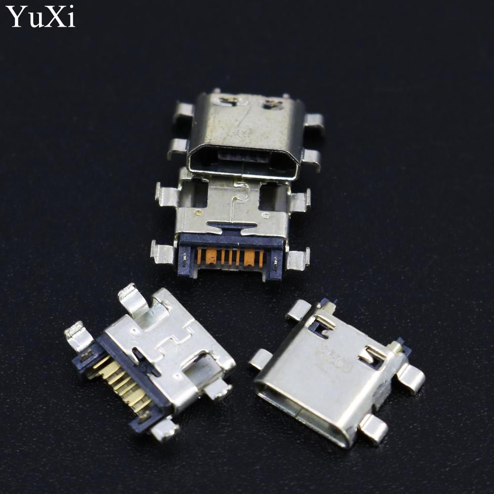 YuXi 10pcs/lot New For Samsung Galaxy J5 <font><b>J510</b></font> J7 J710 2016 Charger Charging Connector <font><b>USB</b></font> Port Dock Connector Plug image