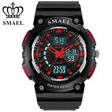 Young Men Fashion Watches Sport LED Quartz Digital Dual Display Wristwatches Waterproof Shock Resistant montre hombre WS1539