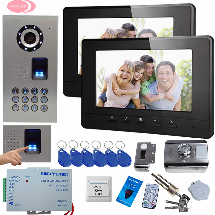 SUNFLOWERVDP Video Doorphone Systems Interphone With Camera
