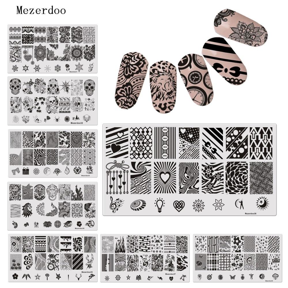 Шаблон гарячого тиснення нігтів - Манікюр