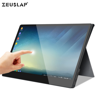 "13.3"" 15.6"" 1920*1080P Full HD NTSC 72% 10 Point Touching Portable Monitor Capacitive Screen for Samsung S8 DEX,Huawei P30 EMUI"