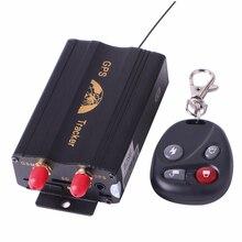 Новый TK103 B С Дистанционным Управлением GPS Tracker автомобилей автомобиля Quad Band GPS103 PC & Web-Based GPS Системы