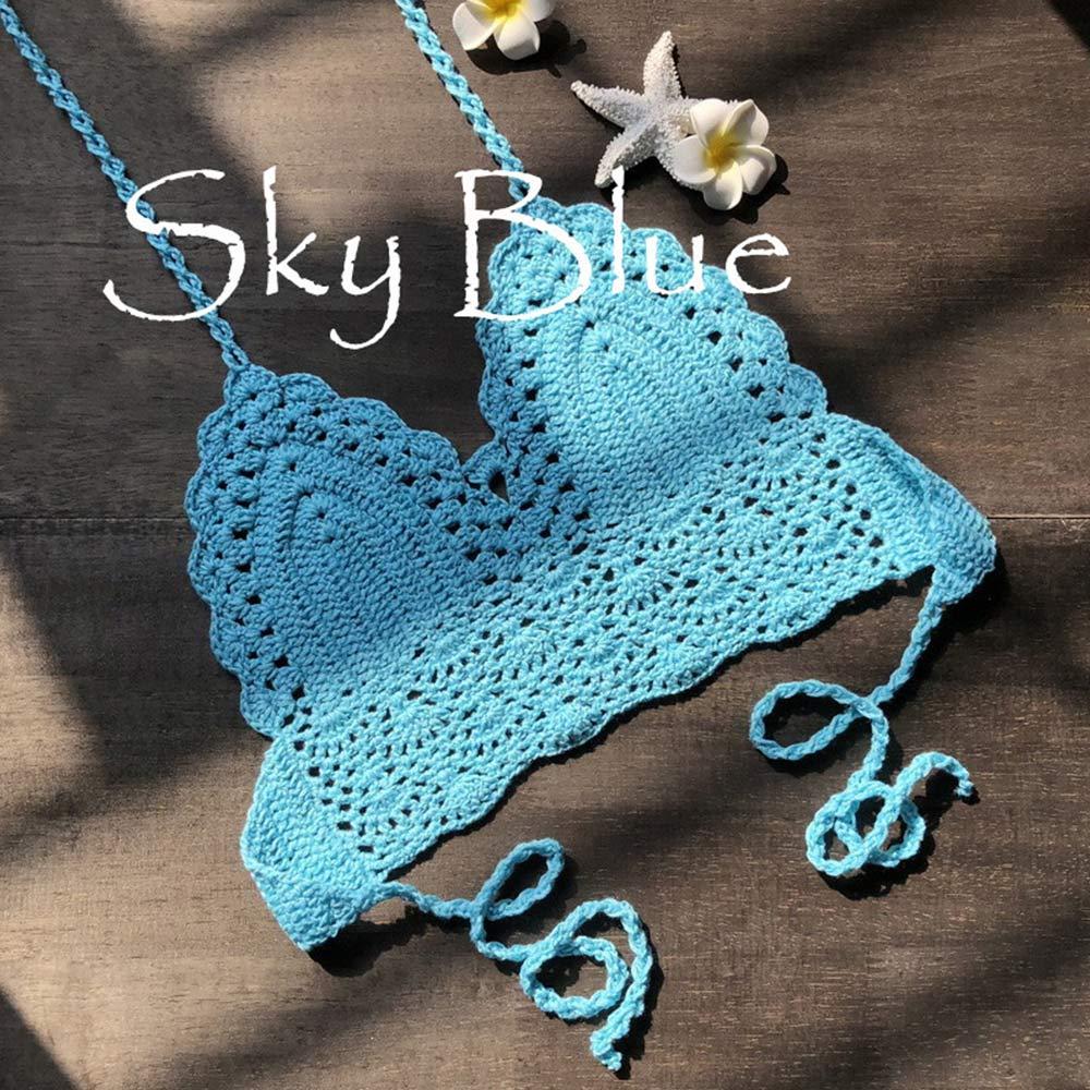 Sky Blue crop top