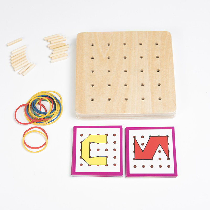 Brinquedos de Matemática criativos borracha tie prego placas Gênero : Unissex
