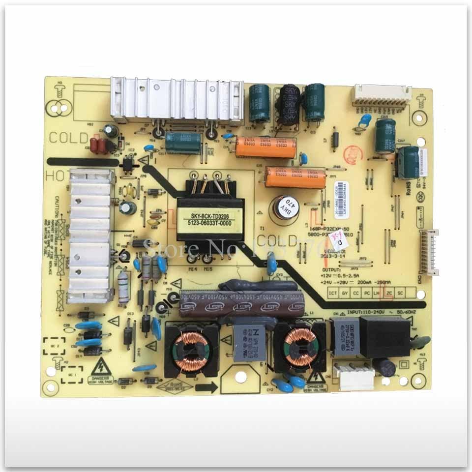 Original power supply board 168P-P32EXM-50 5800-P32EXM-0500/0510 used original 32s12hr 32k03hr 32l05hr power supply board 168p p32alk 00 10