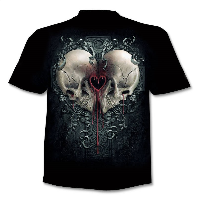 Drop Ship Summer NewFunny skull 3d T Shirt Summer Hipster Short Sleeve Tee Tops Men/Women Anime T-Shirts Homme Short sleeve tops 15