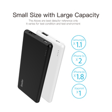 Besiter 5000mah Ultra Thin Portable Power Bank for Smart Phones Laptop Universal External Battery Charger Poverbank for Xiaomi