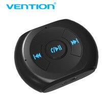 Vention kit receptor de música aux bluetooth, adaptador de áudio sem fio com microfone e fone de ouvido, aux para xiaomi, 3.5mm iphone