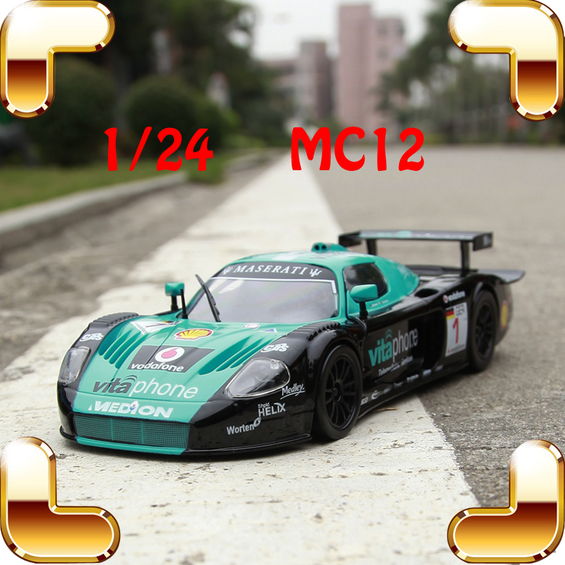 New Year Gift MC12 1/24 Model Metal Sports Car Alloy Die-cast Scale Collectables Tracing Vehicle Window Showcase Toy Match Cars siku die cast metal model simulation toy 1 32 scale ropa beet harvester educational car for children s gift or collection big