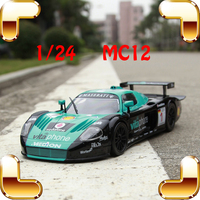 New Year Gift MC12 1/24 Model Metal Sports Car Alloy Die cast Scale Collectables Tracing Vehicle Window Showcase Toy Match Cars