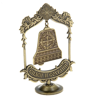 Antique Bell Pendant Suspension Table Furnishing Articles Vintage Party Chirstmas Decoration Vintage Church Gift Crafts
