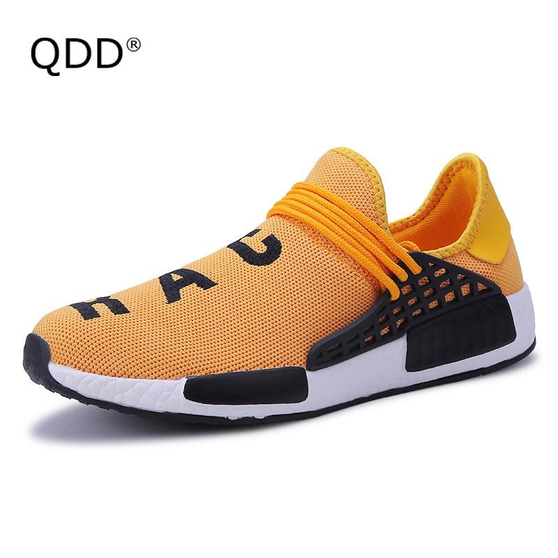 QDD 2018 marca Super Light hombres zapatillas transpirable raza humana para hombre verano Krasovki zapatillas Ultra Boosts zapatillas