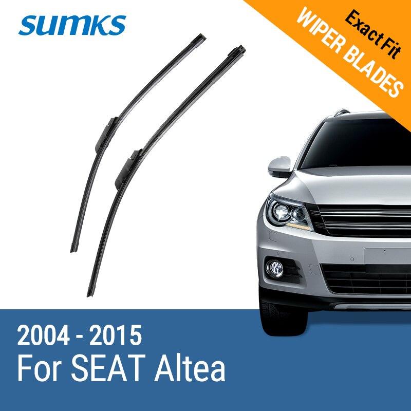SUMKS D'essuie-Glace Lames pour SEAT Altea 26