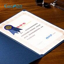 Сертификат золотого тиснения пустая Высококачественная работа предложение внутри бумаги 15 листов/мешок А4 сертификат бумага для печати копировальная бумага