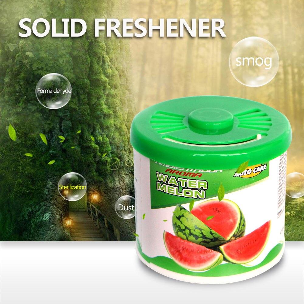 Pirulito Novo Purificador de Ar Do Carro Perfume sólido & Fragrance 90G Eco Interior Ornamento Casa Banheiro Sólida Desodorante