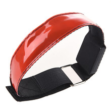 LED Safety Reflective Strap Shine Armband for Running red(China)