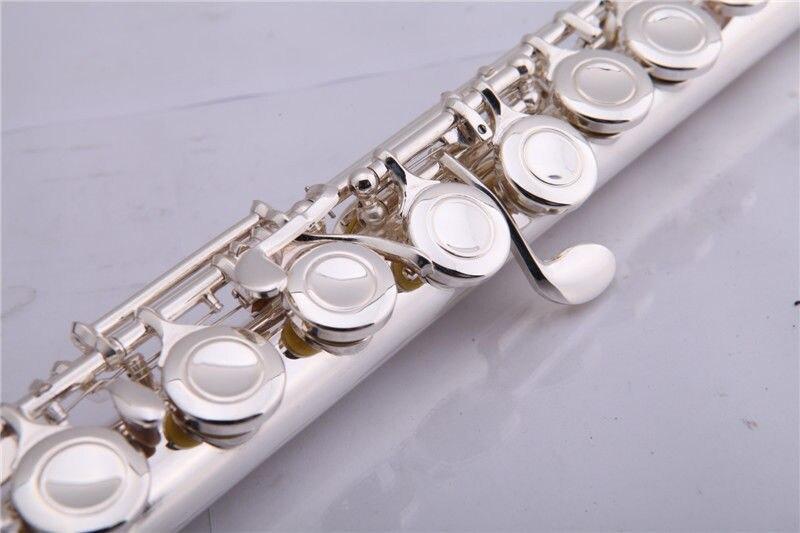 16 οπές κλειστού ασημένιου φλάουτου με - Μουσικά όργανα - Φωτογραφία 3