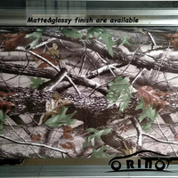 Realtree Camo Vinyl Wrap Sticker Real tree leaf Camouflage Film Car styling Different Size For Choices