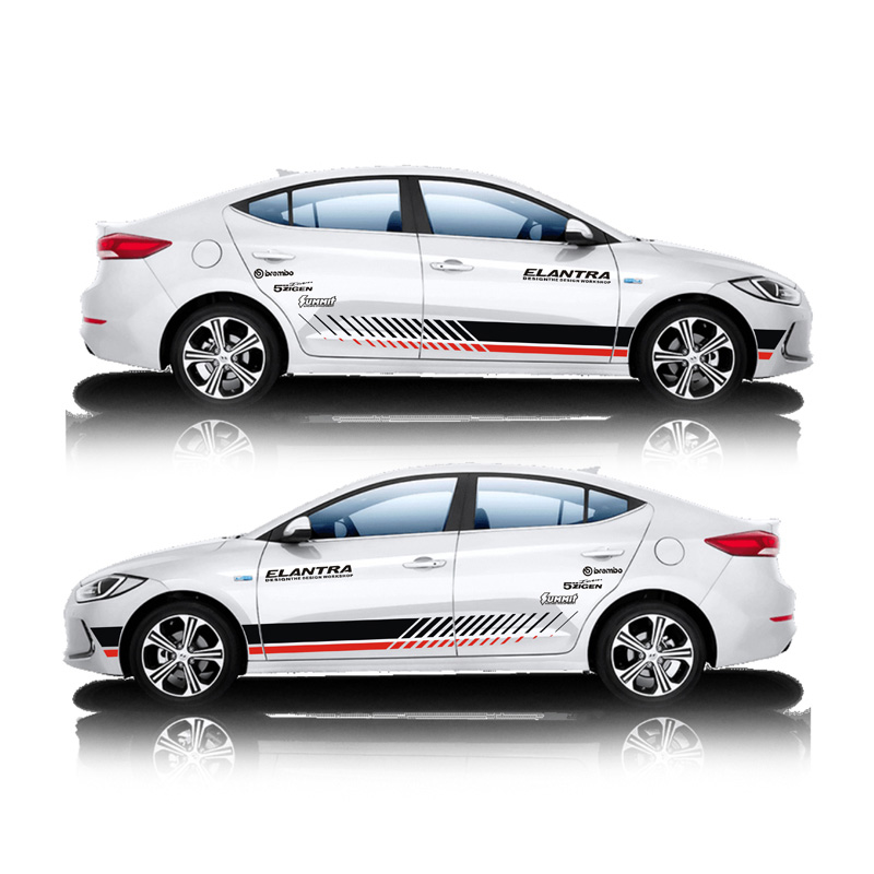 TAIYAO car styling sport car sticker For 2016-2018 Hyundai ELANTRA Mark Levinson car accessories and decals auto sticker цена