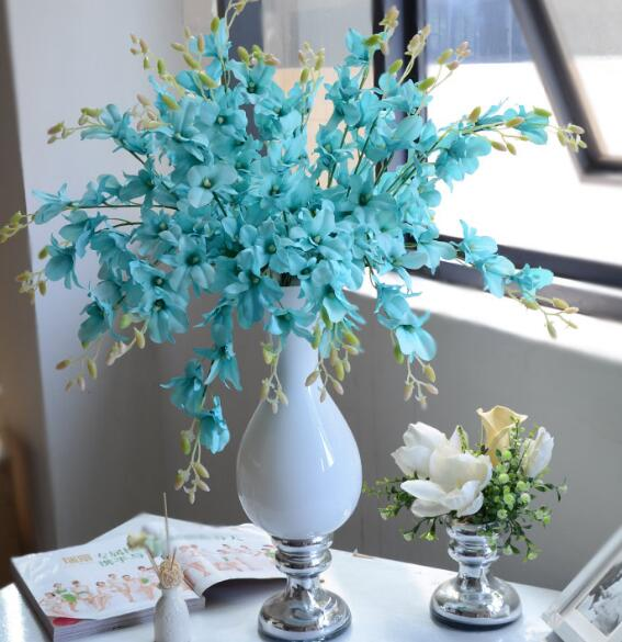 beautiful orchid flower artificial flower for living room wedding
