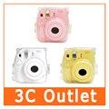 Fujifilm Instax Mini8 Камеры Прозрачный Чехол + Ремешок, бесплатная Доставка