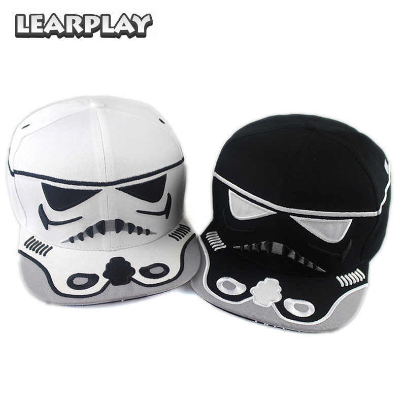 848005c32438f Star Wars Cosplay Trooper Baseball Caps Hip-Hop Spring Summer Autumn Winter  Cotton Snapback Hat