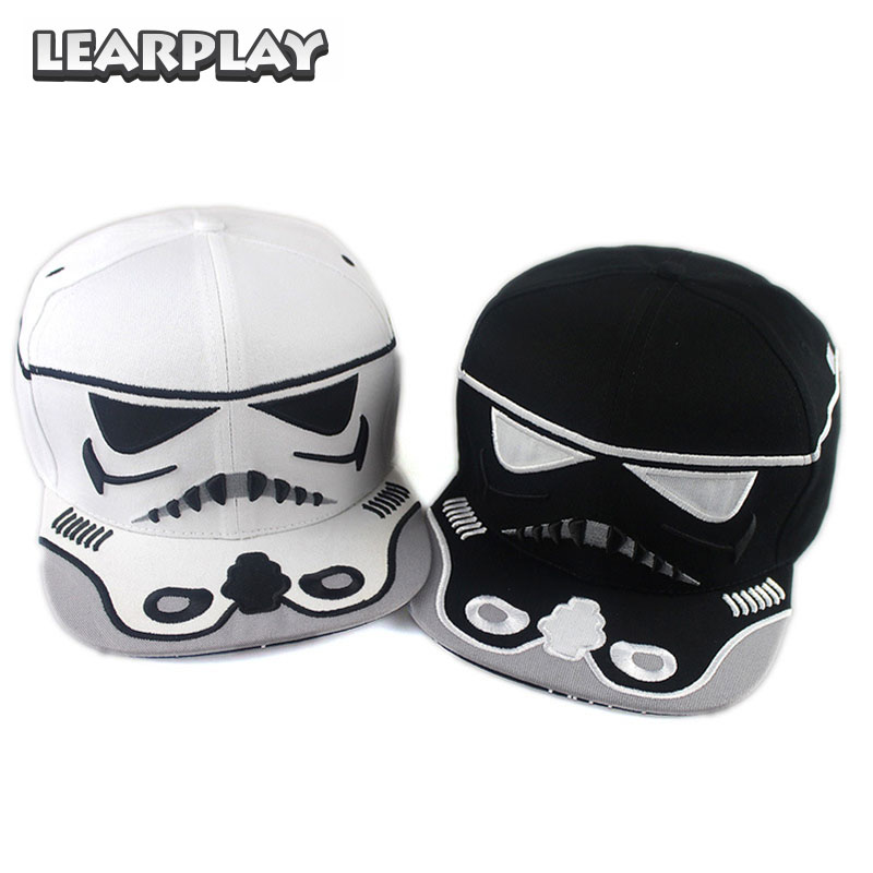 Star Wars Cosplay Trooper Baseball Caps Hip-Hop Spring Summer Autumn Winter Cotton Snapback Hat For Men Women Streetwear