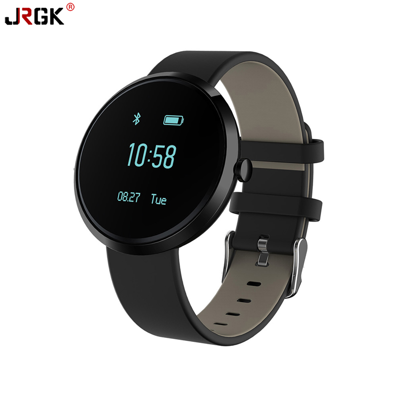JRGK Smart Bracelet Sport Pedometer Band Heart Rate Tracker Fitness Watch Blood Pressure Monitor Wristband For