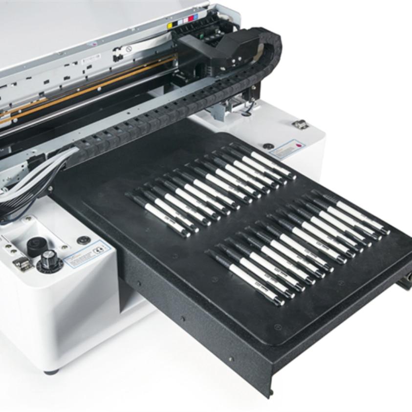 Hot Colorful Image Uv Printer With 5760*1440 dpi High Resolution Printing Machine Inkjet цена