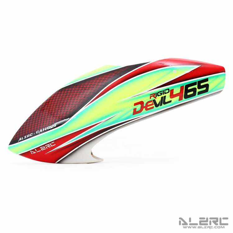 New  ALZRC Devil 465 FAST RC Helicopter Parts Fiberglass Painting Canopy alzrc devil 380 fast fiberglass painting canopy set s a s b