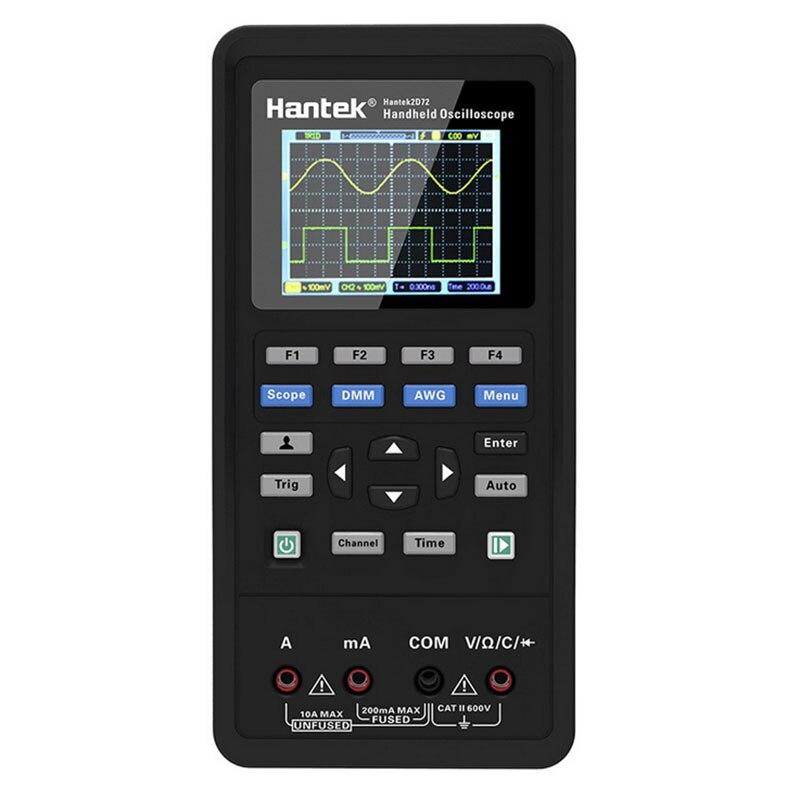 Hantek Osciloscópio Digital Portátil Automotive 2d72 2d42 2c42 2c72 Multímetro Usb Mini Osciloscópio Gerador de Forma de Onda 3in1 Usb