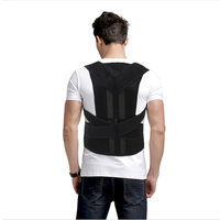 AOFEITE Scoliosis Posture Corrector Lumbar Support Belt Around Shoulder Back Brace Corset For Back Pain Bdsm