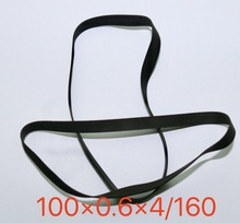 2Pieces/Lot Folding Length:160mm Thickness:0.6mm Width:4mm Card Seat Audio Belt Recorder Drive Transmission Flat