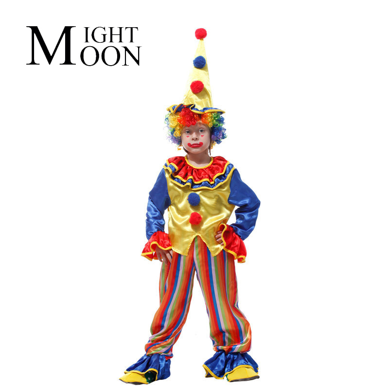 MOONIGHT Yule Ball Game Shows, Halloween Party Clothing, Children'S Funny Jokes Clown Costume