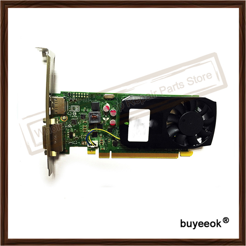 100 Original Graphic Card For DELL Quadro K620 2GB Display Video Card GPU Replacement Tested Working