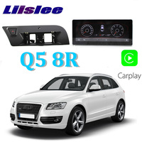 Liislee Car Multimedia Player NAVI 10.25 inch For Audi Q5 8R 2008~2017 riginal Car MMI Style Radio Stereo GPS Navigation