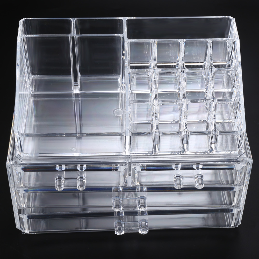 Housekeeping Organization Storage Box Makeup Organizer Plastic