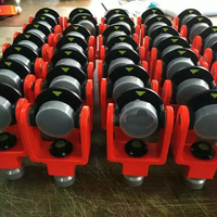 NEW 10pcs mini prism for total station prisms all metal