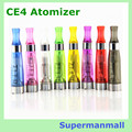 5pcs/lot CE4 HOT CE4 Atomizer electronic cigarette 1.6ml EGO CE4 atomizer for ego ce4 ce5 vaporizer evod battery